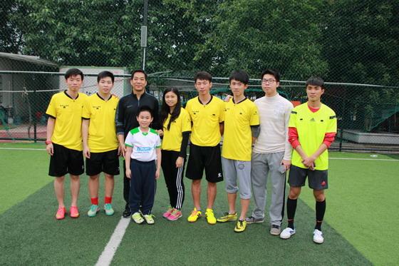 体育系学生参加国家三级足球裁判培训